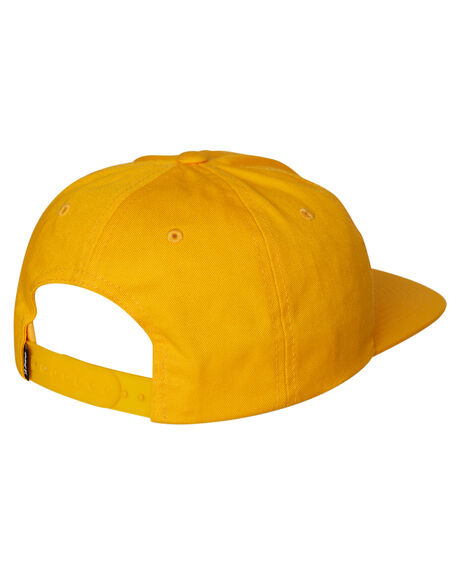 ENERGY YELLOW MENS ACCESSORIES OBEY HEADWEAR - 100580188EYL