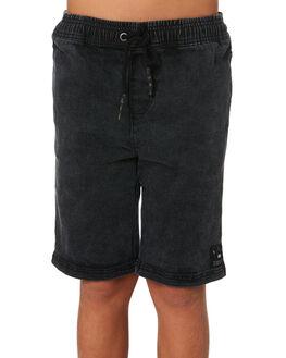 BLACK KIDS BOYS ST GOLIATH SHORTS - 2421019BLK