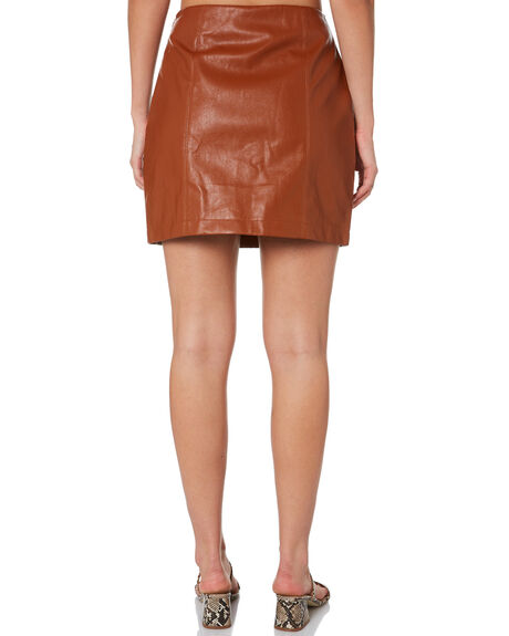 BROWN WOMENS CLOTHING MINKPINK SKIRTS - MD1910931BRN