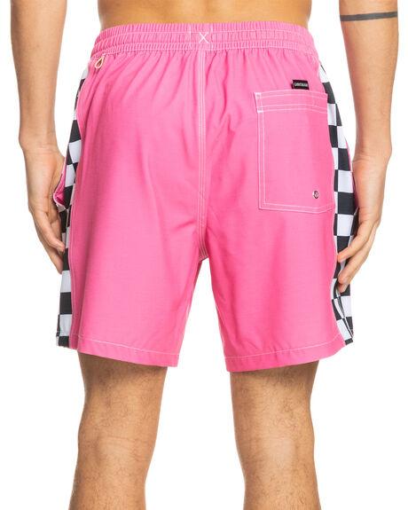 SHOCKING PINK MENS CLOTHING QUIKSILVER BOARDSHORTS - EQYJV03760-MJY0