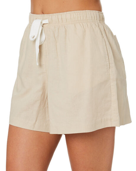 SAND WOMENS CLOTHING NUDE LUCY SHORTS - NU23685SAND