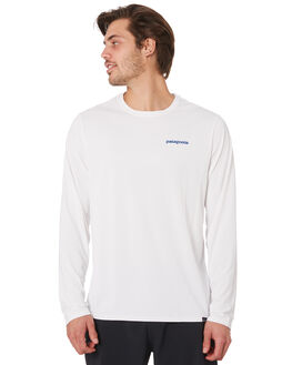 WHITE MENS CLOTHING PATAGONIA TEES - 45190BOLW