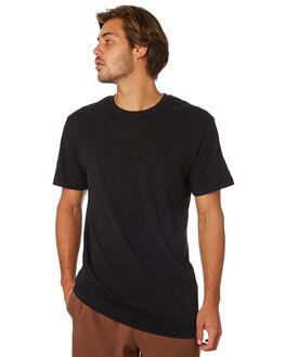BLACK MENS CLOTHING RHYTHM TEES - JAN19M-CT01-BLK