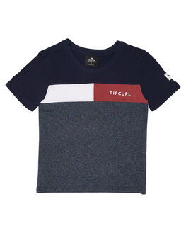 NAVY MARLE KIDS BOYS RIP CURL TOPS - OTESG23277