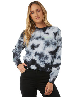 BLACK WOMENS CLOTHING VOLCOM JUMPERS - B3111807BLK