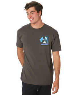 CHARCOAL MENS CLOTHING THE LOBSTER SHANTY TEES - LBSPOTEECHAR