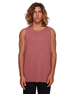 ROSE DUST MENS CLOTHING BILLABONG SINGLETS - BB-9591501-RDU