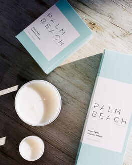 FRENCH VANILLA WOMENS ACCESSORIES PALM BEACH COLLECTION HOME + BODY - MCXFVS