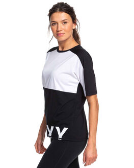 TRUE BLACK WOMENS CLOTHING ROXY ACTIVEWEAR - ERJZT04657-KVJ0