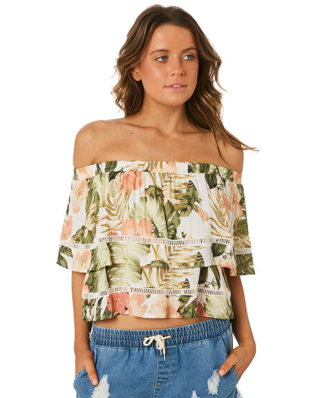 WHITE OUTLET WOMENS RIP CURL FASHION TOPS - GSHCS71000