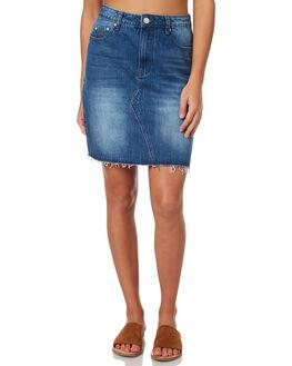 REVERED WOMENS CLOTHING RES DENIM SKIRTS - RD-WEN18044REVER