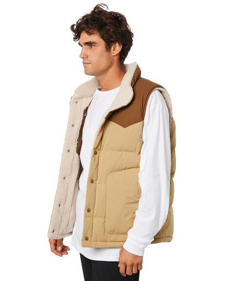 CLASSIC TAN MENS CLOTHING PATAGONIA JACKETS - 27588CSC