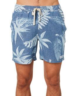 GLACIER BLUE MENS CLOTHING BANKS SHORTS - WS0104GLACB