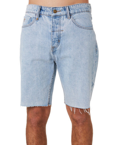 WASTED BLUE MENS CLOTHING THRILLS SHORTS - TDP-314WEWBLU