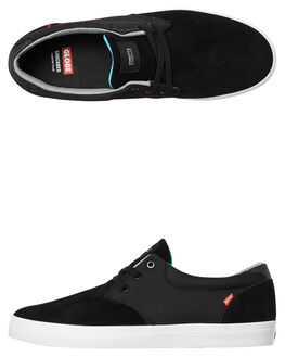 BLACK MENS FOOTWEAR GLOBE SKATE SHOES - GBWINSLOW-20375