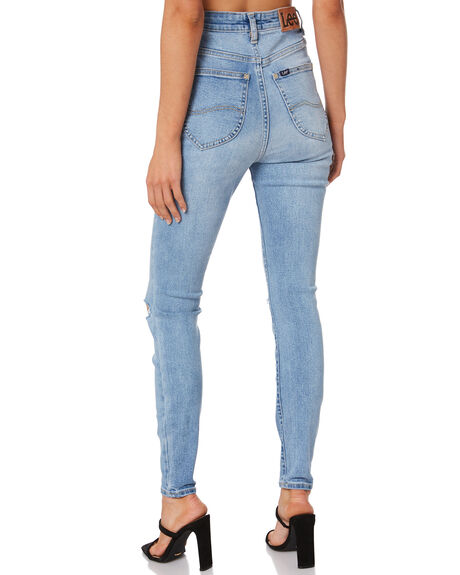 BLUE SPARK WOMENS CLOTHING LEE JEANS - L-656860-NV8