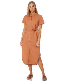 CINNAMON WOMENS CLOTHING NUDE LUCY DRESSES - NU23663CIN