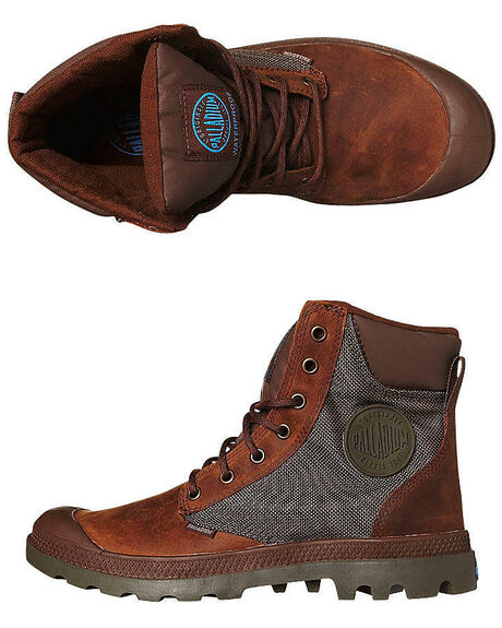 42ad59f7e43 Palladium Pampa Sport Cuff Waterproof Boot - Bridle Brown Olive Drab ...