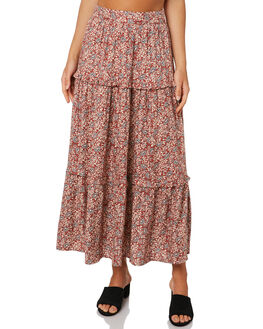 TIGANI FLORAL WOMENS CLOTHING THE HIDDEN WAY SKIRTS - H8203472TIGFL
