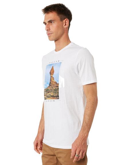 WHITE MENS CLOTHING VOLCOM TEES - A5032005WHT