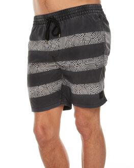 WASHED BLACK MENS CLOTHING GLOBE BOARDSHORTS - GB01718010WBLK