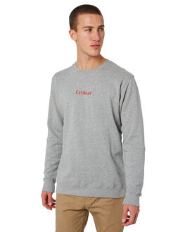 GREY MARLE MENS CLOTHING THE CRITICAL SLIDE SOCIETY JUMPERS - SWF1705GREY