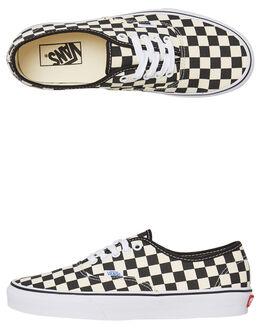 BLACK WHITE MENS FOOTWEAR VANS SNEAKERS - SSVN-0W4NDI0BKWHM