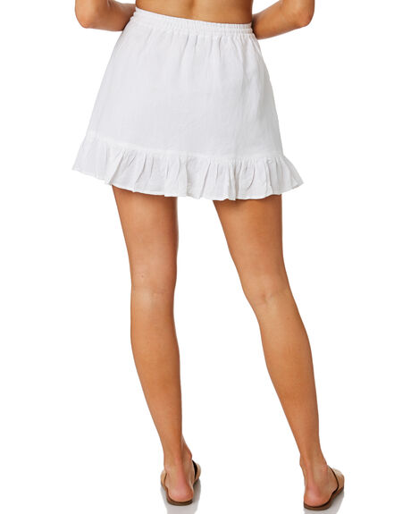 WHITE WOMENS CLOTHING SWELL SKIRTS - S8202472WHI