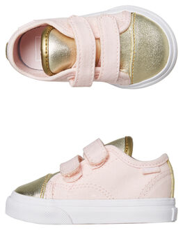 HEAVENLY PINK KIDS TODDLER GIRLS VANS FOOTWEAR - VNA3JEVUK4HPINK