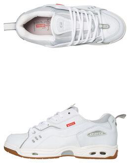 WHITE GUM MENS FOOTWEAR GLOBE SKATE SHOES - SSGBCTIVC11126M