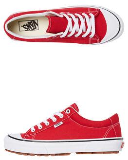 RED MENS FOOTWEAR VANS SNEAKERS - SSVNA3MVHJV6M