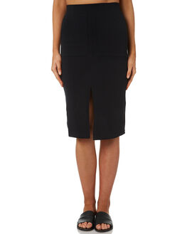 BLACK WOMENS CLOTHING BETTY BASICS SKIRTS - BB246S18BLK