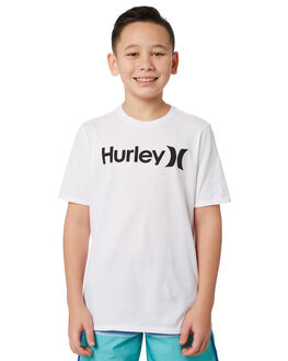 WHITE KIDS BOYS HURLEY TOPS - BQ1504100