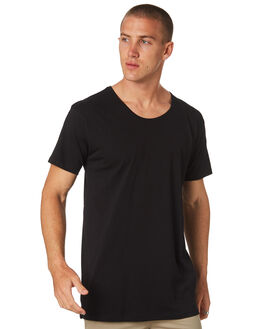 BLACK MENS CLOTHING AS COLOUR TEES - 5011BLK