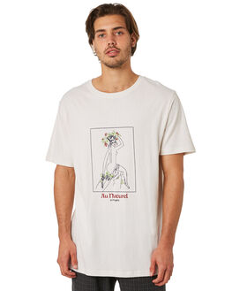 WHITE OUTLET MENS INSIGHT TEES - 5000003307WHT