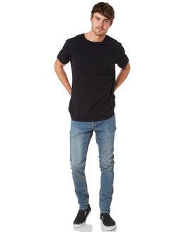 SEVENTIES INDIGO MENS CLOTHING VOLCOM JEANS - A1931610SVI