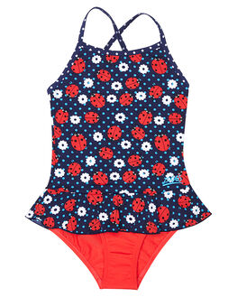 NAVY RED KIDS TODDLER GIRLS ZOGGS SWIMWEAR - 5097172NVY