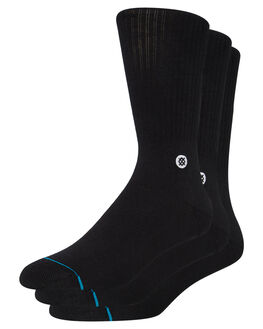 BLACK MENS CLOTHING STANCE SOCKS + UNDERWEAR - M556D18ICPBLK