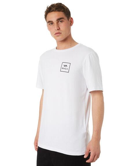WHITE MENS CLOTHING RVCA TEES - R172062WHT