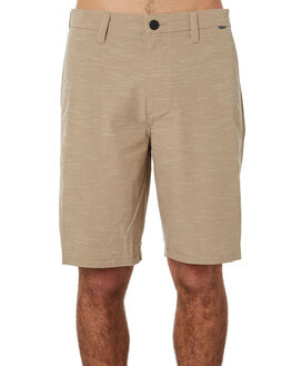 KHAKI MENS CLOTHING HURLEY SHORTS - 895083235