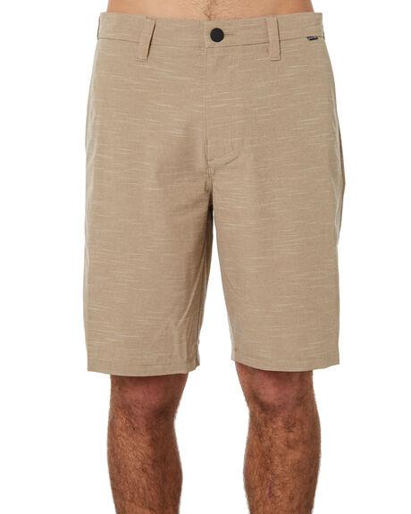 KHAKI MENS CLOTHING HURLEY SHORTS - 895083235