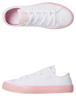 WHITE BLOSSOM KIDS GIRLS CONVERSE SNEAKERS - 660719BLOS