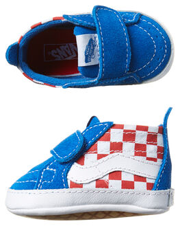 RACING RED IMPERIAL KIDS TODDLER GIRLS VANS FOOTWEAR - VN-046PMJ4RED