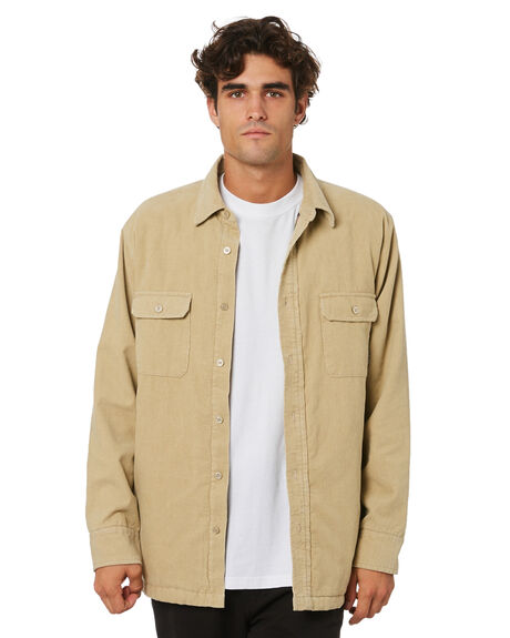 TAN MENS CLOTHING DEPACTUS JACKETS - D5203380TAN