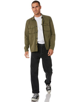 DARK EMERALD MENS CLOTHING DR DENIM SHIRTS - 2011111J10DKEMD