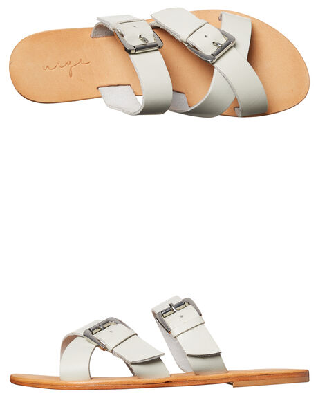 ICE LEATHER OUTLET WOMENS URGE FASHION SANDALS - URG17060ICE