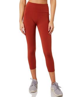 DARK RUST WOMENS CLOTHING LORNA JANE ACTIVEWEAR - LB0210DKRST