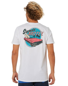 WHITE MENS CLOTHING SWELL TEES - S5202015WHITE