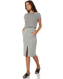 SILVER MARLE WOMENS CLOTHING BETTY BASICS SKIRTS - BB246S18SIL