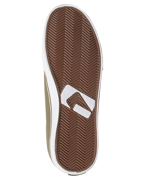 BURNT OLIVE MENS FOOTWEAR GLOBE SKATE SHOES - GBGS-19966
